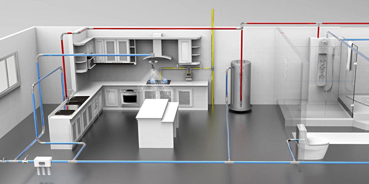 家装管路系统
