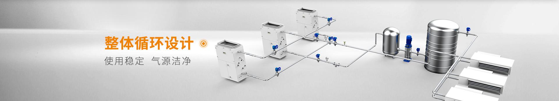 卡狮管业暖通管道系统 整体循环设计